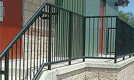 Littleton industrial handrails